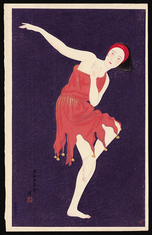 Kiyoshi Kobayakawa: Western Style Dancing - Japanese Art Open Database
