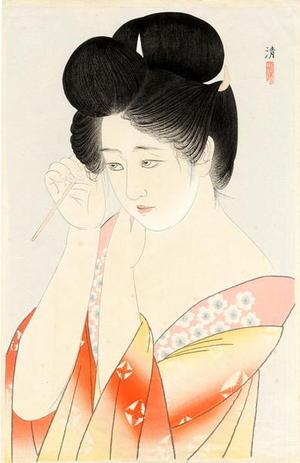 Kiyoshi Kobayakawa: Hair — 髪 - Japanese Art Open Database