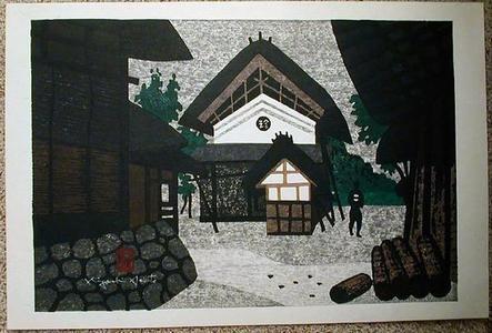 Kiyoshi Saito: Unknown- Saito's hometown of Aizu - Japanese Art Open Database