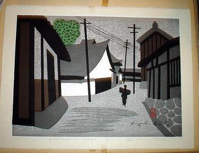 Kiyoshi Saito: Biyakugoji Temple, Nara - Japanese Art Open Database