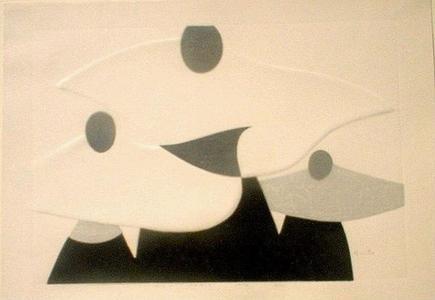 Kiyoshi Saito: Nun Paris - Japanese Art Open Database