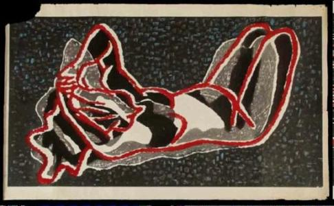 Kiyoshi Saito: Unknown, Nude - Japanese Art Open Database