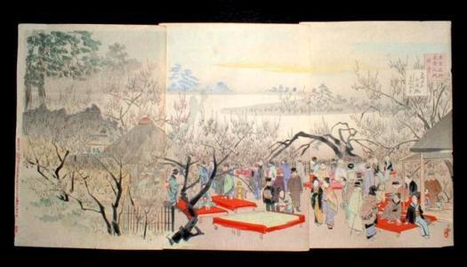 小林清親: January - Japanese Art Open Database