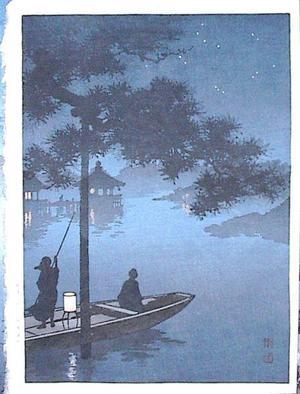 古峰: Lake Biwa - Japanese Art Open Database