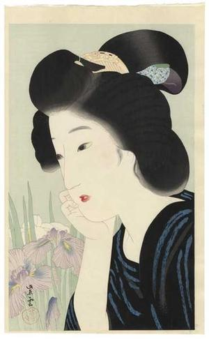 Kondo Shiun: June - Irises - Japanese Art Open Database
