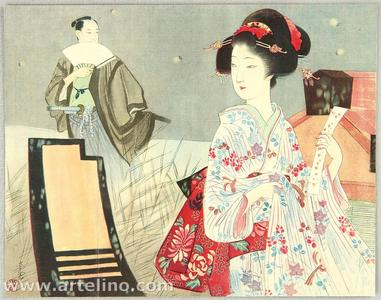 Kondo Shiun: Firefly Romance - Japanese Art Open Database