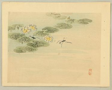 幸野楳嶺: Water Strider - Japanese Art Open Database