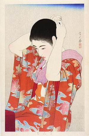 Torii Kotondo: Autumn Leaves — 紅葉 - Japanese Art Open Database