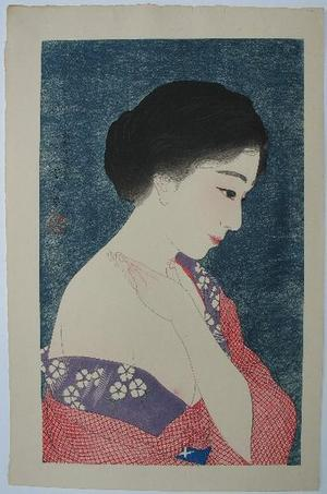 Torii Kotondo: Make-up — 化粧 - Japanese Art Open Database