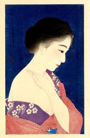 鳥居言人: Make-up — 化粧 - Japanese Art Open Database