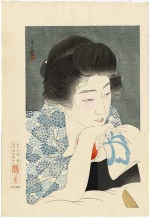 Torii Kotondo: Morning Hair - Asa Negami — 朝寝髪 - Japanese Art Open Database