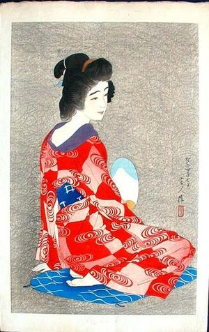 Torii Kotondo: Nagajuban- Long Undergarment — 長襦袢 - Japanese Art Open Database