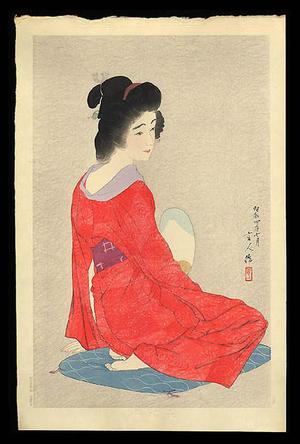 Torii Kotondo: Nagajuban- Long Undergarment- Variant 1 - Japanese Art Open Database