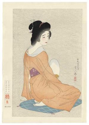 鳥居言人: Nagajuban- Long Undergarment — 長襦袢 - Japanese Art Open Database