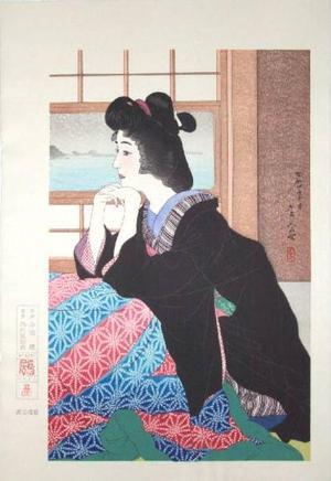 Torii Kotondo: Snow (Yuki) — 雪 - Japanese Art Open Database