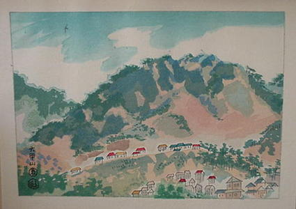 Kotozuka Eiichi: Mt. Rokko - Japanese Art Open Database