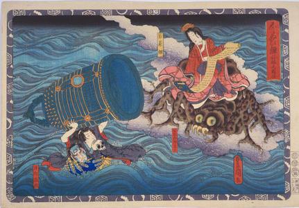 歌川国貞: Scene of the First Chapter — 松村・福島(名主印) - Japanese Art Open Database