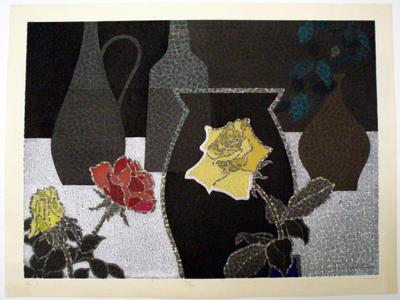 Mabuchi Toru: BARA- roses - Japanese Art Open Database