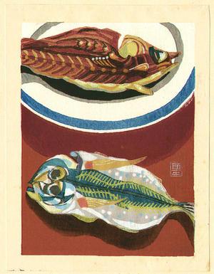 馬淵聖: Dried Fish - Japanese Art Open Database