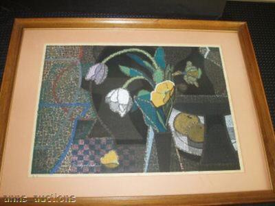 Mabuchi Toru: Spring Table — 春卓 - Japanese Art Open Database