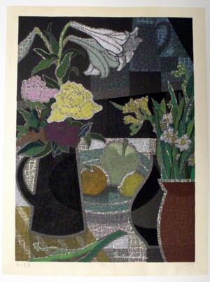 馬淵聖: Sweet Spring at the Table - Japanese Art Open Database