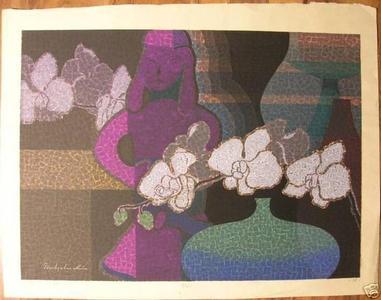 Mabuchi Toru: Unknown- Vase and Haniwa - Japanese Art Open Database