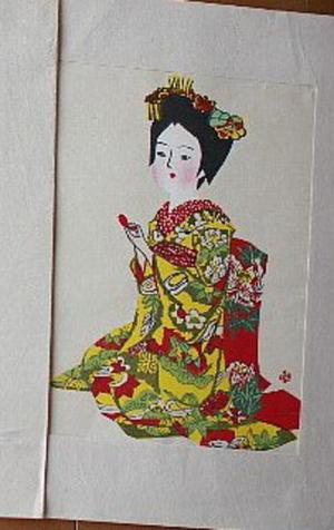 前川千帆: Maiko — 舞妓 - Japanese Art Open Database