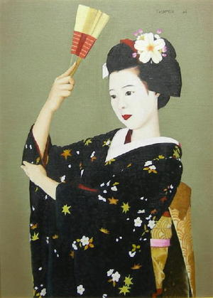 Maeda Toshiro: Maiko — 舞 - Japanese Art Open Database