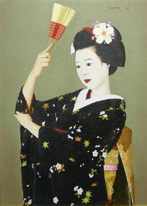 前田藤四郎: Maiko — 舞 - Japanese Art Open Database