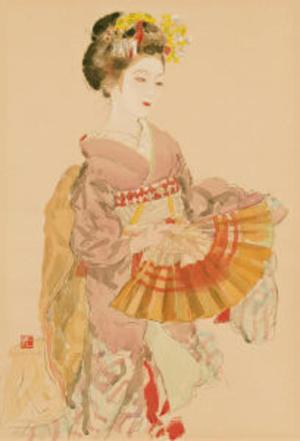 Miyamoto Saburo: Kyoto Maiko — 京舞 - Japanese Art Open Database