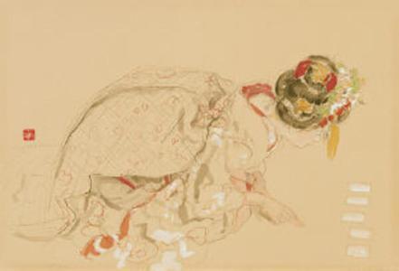 Miyamoto Saburo: New Years Week - Japanese Art Open Database