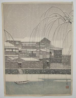 Mori Masamoto: Snow in Unknown - Japanese Art Open Database
