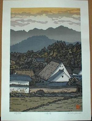 Nishijima Katsuyuki: Houses in Hacho - Japanese Art Open Database