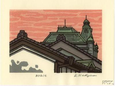 Nishijima Katsuyuki: Skyline - Japanese Art Open Database