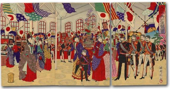 渡辺延一: Attending the Arts and Crafts Exhibition - Japanese Art Open Database