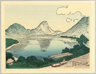 Nouet Noel: Lake Haruna - Japanese Art Open Database