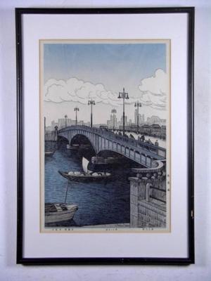 Nouet Noel: Ryogoku Bridge — 両国橋 - Japanese Art Open Database