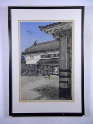 Nouet Noel: Sakura-Mon — 桜田門 - Japanese Art Open Database