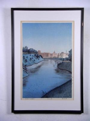 Nouet Noel: Unknown title- XX Bridge — ?慶橋 - Japanese Art Open Database