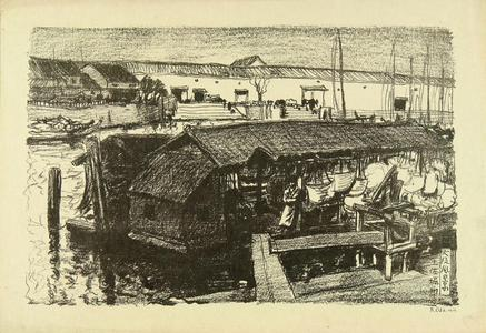 Oda Kazuma: Tosabori River - Japanese Art Open Database