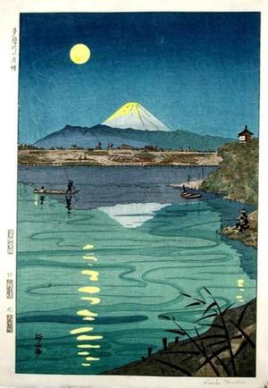 Okada Koichi: Moonlight in Tamagawa - Japanese Art Open Database