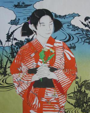 Okamoto Yoshimi: First Love 1 - Japanese Art Open Database