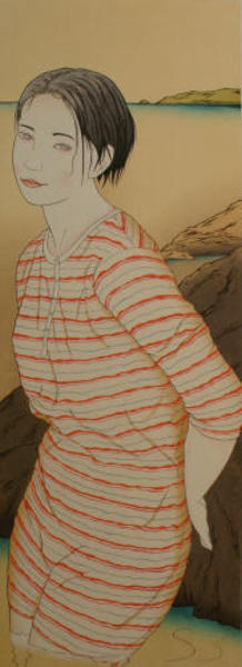 Okamoto Yoshimi: First Love 8 A - Japanese Art Open Database