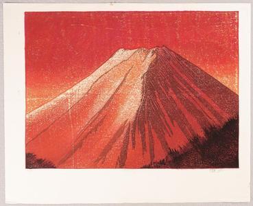 Rome Joshua: Red Fuji - Japanese Art Open Database