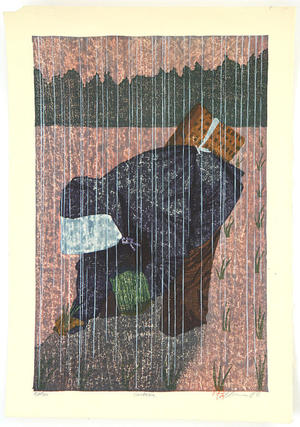Rome Joshua: Rice Planting Girl - Saotome - Japanese Art Open Database