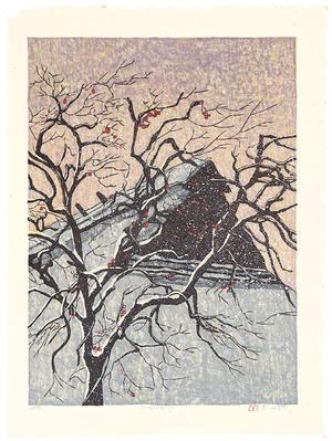 Rome Joshua: Snowy Morning - Japanese Art Open Database