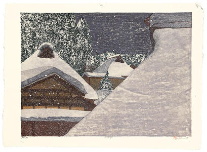 Rome Joshua: Snowy Night - Japanese Art Open Database
