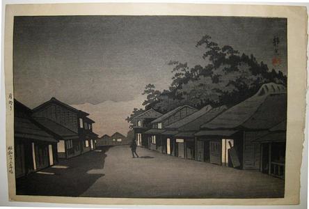 静湖: Moonlight - Japanese Art Open Database