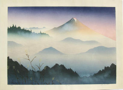 Kusaka Kenji: Late fall — 晩秋 - Japanese Art Open Database