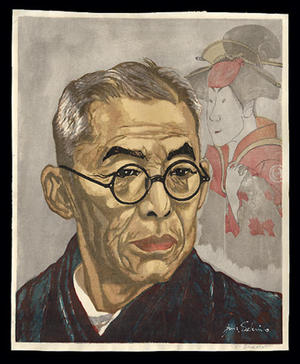 Sekino Junichiro: Kichiemon Nakamura - Japanese Art Open Database